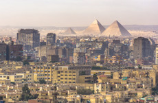 17 people injured after explosion hits tourist bus near Egyptian pyramids