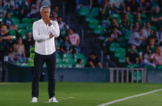 Betis sack coach hours after surprise win over Madrid at the Bernabeu