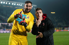 AC Milan's Champions League hopes still alive after 20-year-old Donnarumma makes crucial penalty save