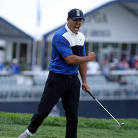 Koepka survives major Sunday scare to defend PGA Championship title