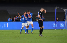 Inter crushed by Napoli as Champions League race goes to the wire