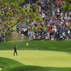 One hop and in! World number 44 nails six-iron for memorable Bethpage ace