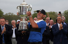 Koepka relieved to retain PGA title as his Major dominance continues