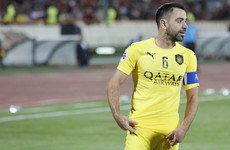 Spain and Barcelona legend Xavi's last match ends in disappointment
