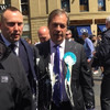Man charged with common assault after Nigel Farage has milkshake thrown over him