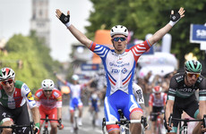 Frenchman Demare lands first-ever Giro win in crash-marred stage 10