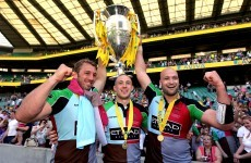 Harlequins win first English title