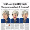 'Desperate, deluded, doomed': UK front pages react to Brexit latest