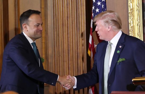 Varadkar 'looks forward' to meeting Trump when he visits Ireland in two weeks' time