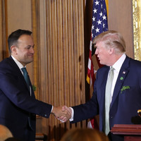Varadkar 'looks forward' to meeting Trump when he visits Ireland in two weeks' time