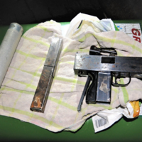 Two men arrested as gardaí recover firearm during raid of Dublin home