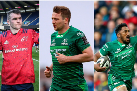 Peter O'Mahony, Jack Carty and Bundee Aki are all in the running to make the Dream Team.