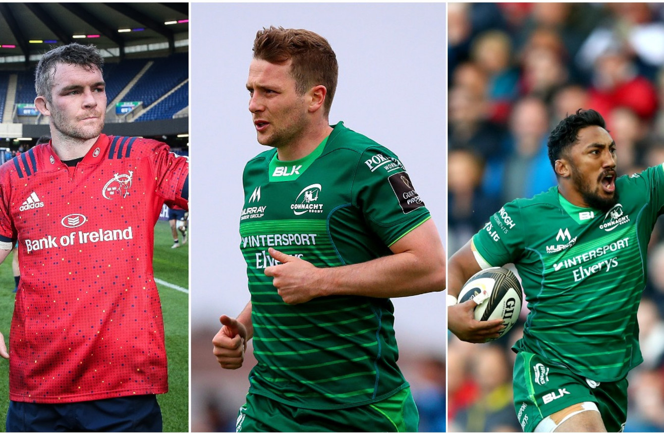 d837698b6ecca O'Mahony, Carty and Aki among 18 Irish nominees for Pro14 Dream Team
