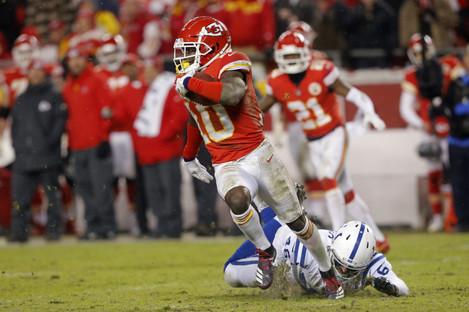 Chiefs star receiver Tyreek Hill.