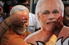 Early results from India's election point to landslide victory for Modi