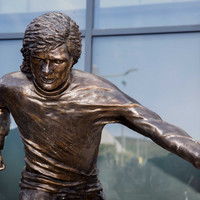Photos: George Best statue unveiled in Belfast