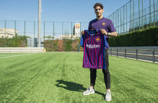Barcelona make third summer signing with the arrival of Dutch midfielder