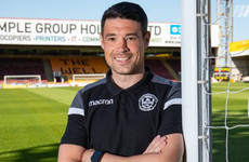 Ex-Ireland defender O'Dea confirmed as Motherwell U18s coach