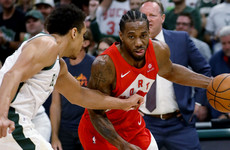 Raptors take series lead over Bucks after come-from-behind win