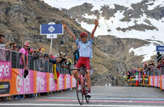 Simon Yates suffers massive time loss as Russian Zakarin wins Giro's first summit finish