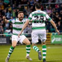 Shamrock Rovers overcome Cork to keep pace with leaders Dundalk