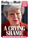 'A Crying Shame': UK front pages react to Theresa May's resignation