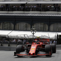 Leclerc on top for Ferrari, as Vettel crashes in Monaco