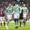 Edouard double sees Celtic come from behind in Scottish Cup final to complete third treble