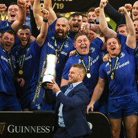 'His last memory now with Leinster will be lifting the trophy'