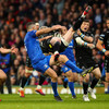 'We have to live with it' - Kearney gets yellow for collision with Hogg