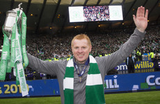 Neil Lennon offered full-time Celtic job after securing historic treble-treble