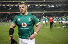 Ireland's Sean O'Brien has been ruled out of the World Cup