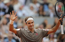 'I missed it so much' - Federer ends four-year Paris absence with victory