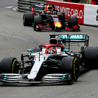 Hamilton clings on for Monaco glory but Mercedes' one-two run ends