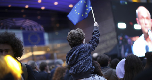 Highest turnout in 20 years across EU as populist right and Greens make gains on establishment parties