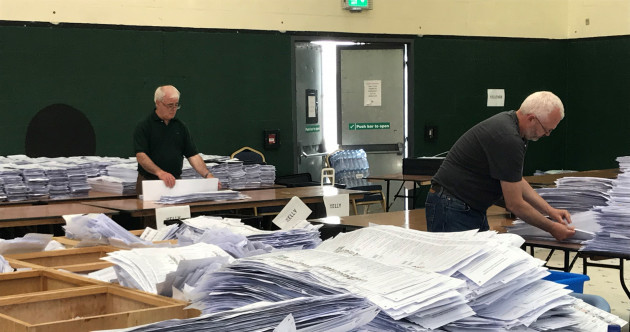 As it happened: Counting under way for a third day - and we have our first MEP