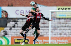 Cork pay the penalty against Bohs, Derry see off Harps in extra time in EA Sports Cup quarters