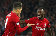 Keita ruled out but Firmino set to be fit for Champions League final