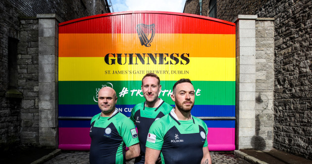 'Its not just for members of the LGBT+ community or the rugby community, it's for absolutely everyone'