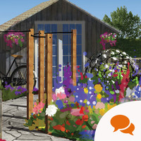 A garden in the Bloom Festival is a space where people with dementia can reminisce