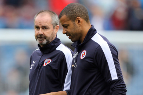Reid and Clarke during their time at Reading.