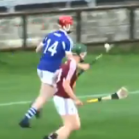 This audacious goal scored by a Laois minor is one to be watched over and over