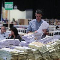 This is what happens to ballot papers once election counting is done and dusted