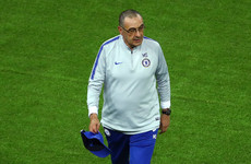Maurizio Sarri clarifies why he stormed out of Chelsea training session