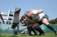 Declan Kidney mixes it up for Barbarians game tomorrow