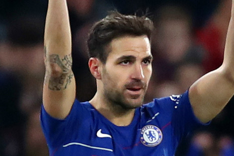 Cesc Fabregas spent five years at Chelsea.