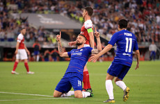 Giroud comes back to haunt former club as Chelsea beat Arsenal to seal Europe League triumph