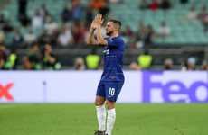 Eden Hazard confirms Chelsea exit plan after Europa League final brace