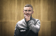 Frampton says he had to rely on physical strength to hold his own with Katie Taylor in sparring