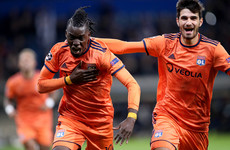 French club Lyon jubilant after Chelsea's Europa League success